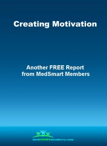 "Cover for ""Creating Motivation"" pdf report"
