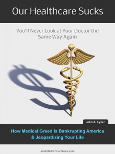 Our Healthcare Sucks book cover