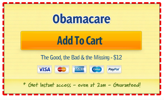 Obamacare Add-to-Cart button