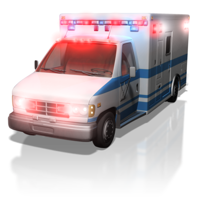 ambulance is often first line of healthcare in America