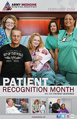 medical care Patient Recognition Month Poster